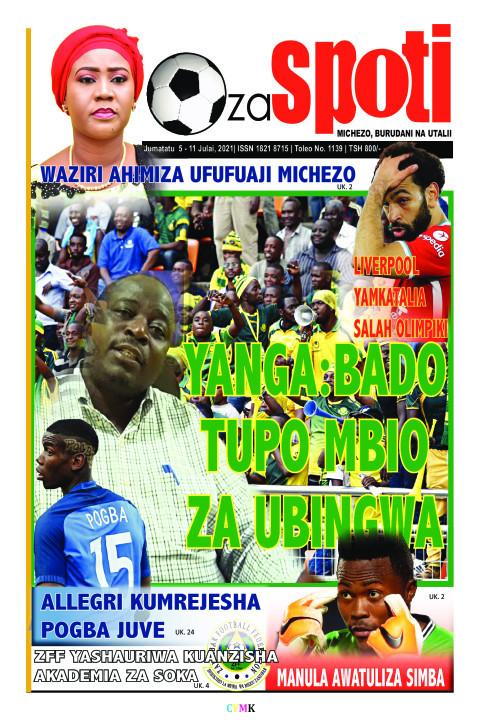 YANGA:BADO TUPO MBIO ZA UBINGWA | ZA SPOTI