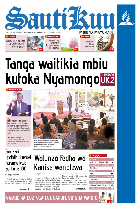 Tanga waitikia mbiu kutoka Nyamongo | Sauti Kuu Newspaper