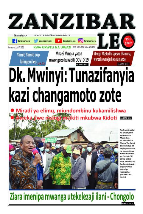 Dk. Mwinyi: Tunazifanyia kazi changamoto zote | ZANZIBAR LEO