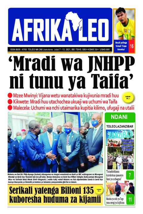 'Mradi wa JNHPP ni tunu ya Taifa' | AFRIKA LEO