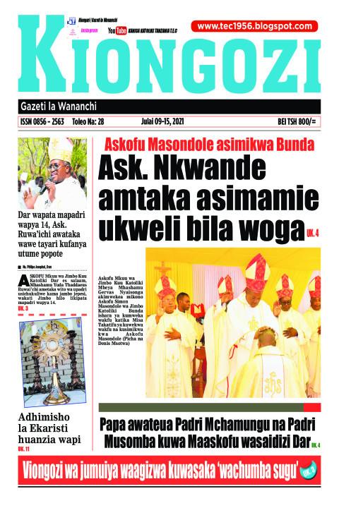 Ask. Nkwande amtaka asimamie ukweli bila woga | Kiongozi