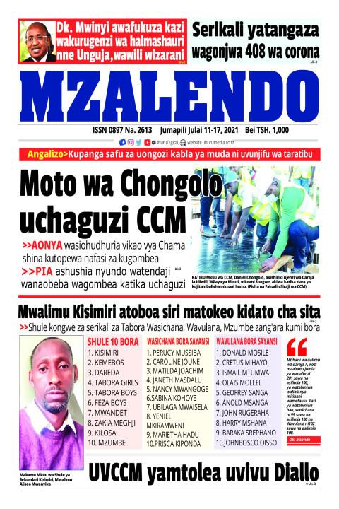 Moto wa Chogolo uchaguzi CCM | Mzalendo