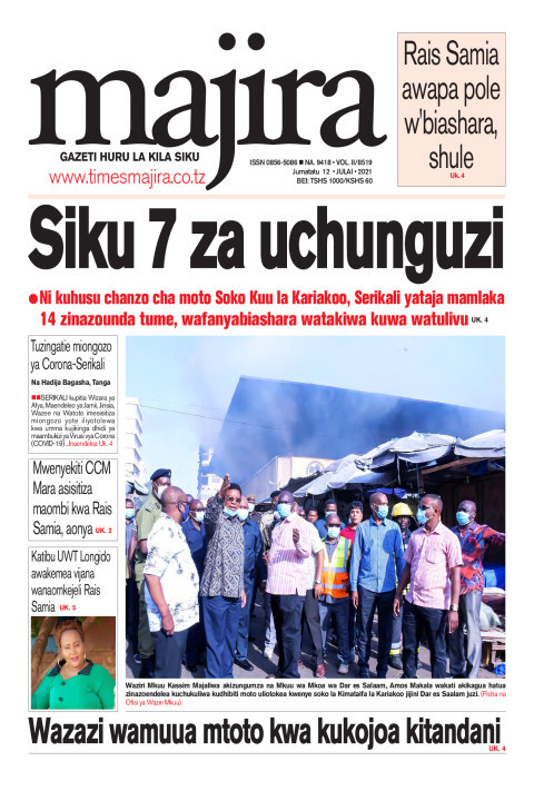 Siku 7 za uchunguzi zatangazwa kuhusu chanzo cha moto Soko K | MAJIRA