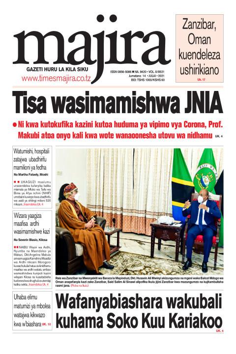 Tisa wasimamishwa JNIA | MAJIRA