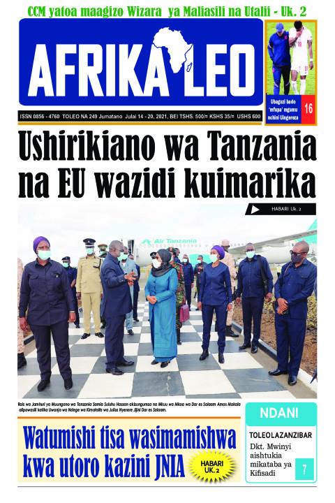 Ushirikiano wa Tanzania na EU wazidi kuimarika | AFRIKA LEO