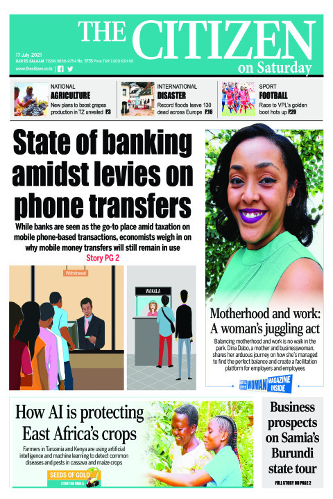 STATE OF BANKING AMIDS LEVIES ON PHONE TRANSFERS  | The Citizen