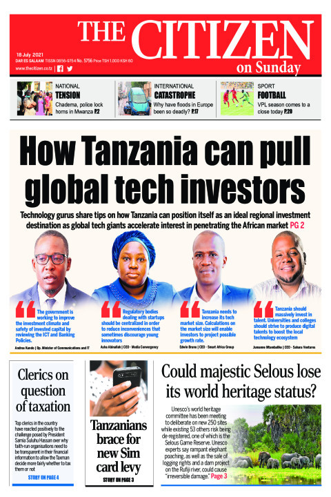 HOW TANZANIA CAN PULL GLOBAL TECH INVESTORS  | The Citizen