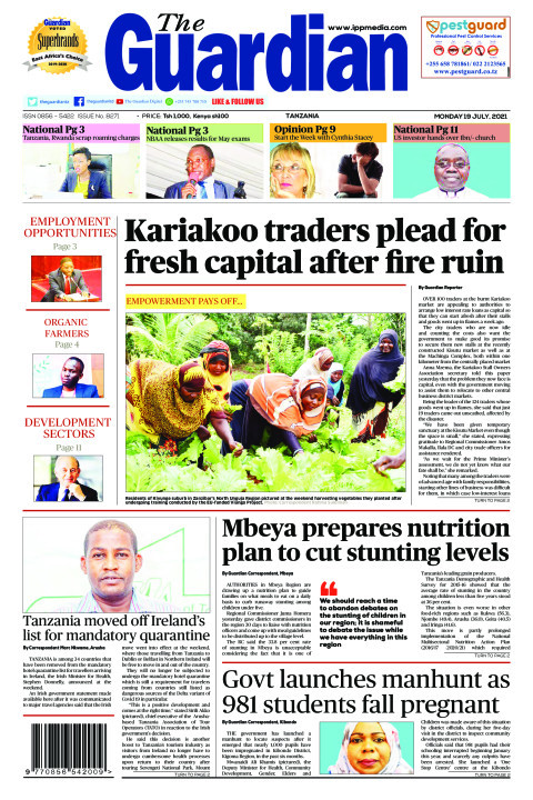 Kariakoo traders plead for fresh capital after fire ruin | The Guardian