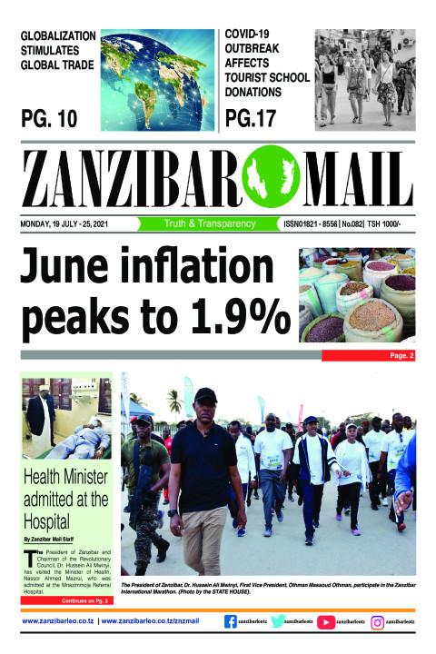 June inflation peaks to 1.9% | ZANZIBAR MAIL