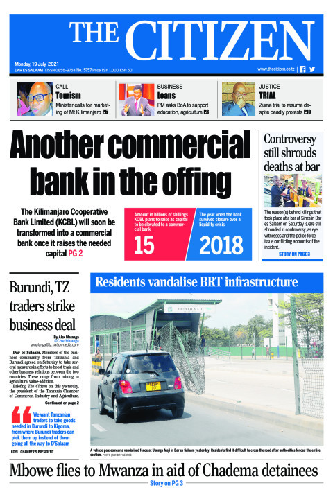 ANOTHER COMMERCIAL BANK IN THE OFFING  | The Citizen