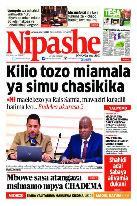Kilio tozo  miamala ya simu chasikika | Nipashe