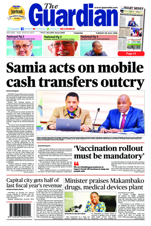 Samia acts on mobile cash transfers outcry | The Guardian