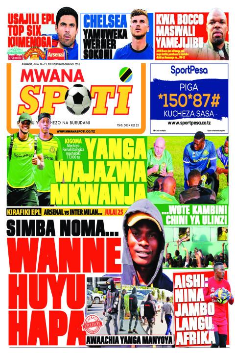 YANGA WAJAZWA MKWANJA,WANNE HUYU HAPA  | Mwanaspoti