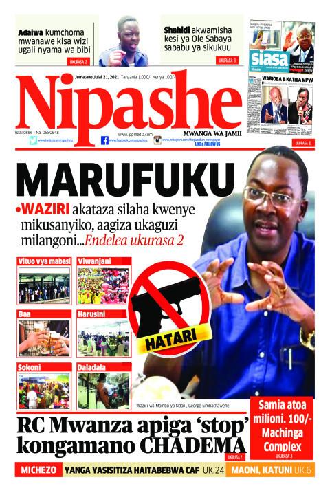 MARUFUKU | Nipashe