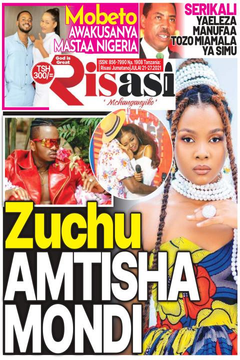 Zuchu AMTISHA MONDI | Risasi Mchanganyiko