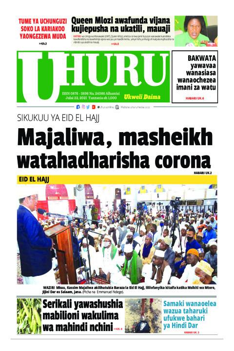 Majaliwa, Masheikh watahadharisha corona | Uhuru