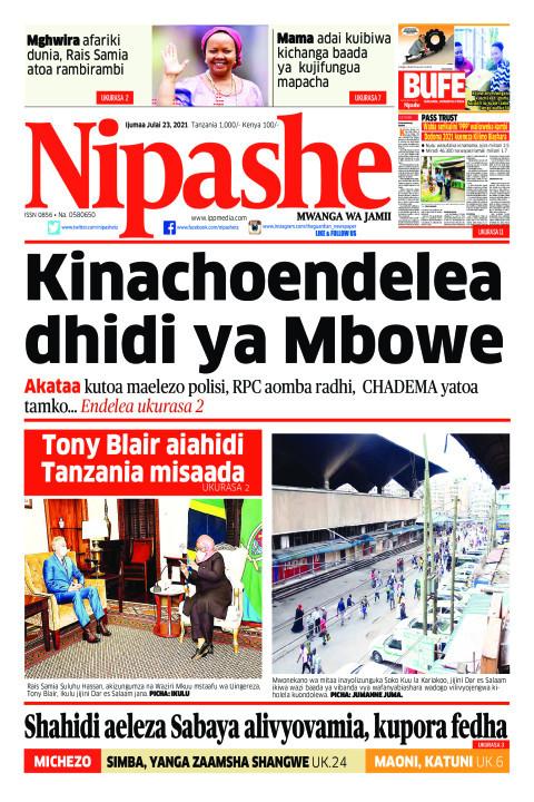 Kinachoendelea dhidi ya Mbowe | Nipashe