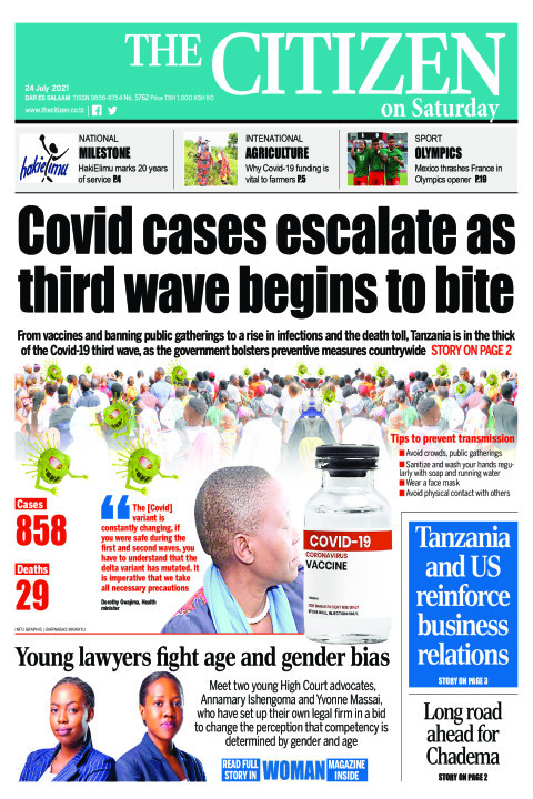 COVID CASES ESCALATE AS THIRD WAVE BEGINS TO BITE  | The Citizen