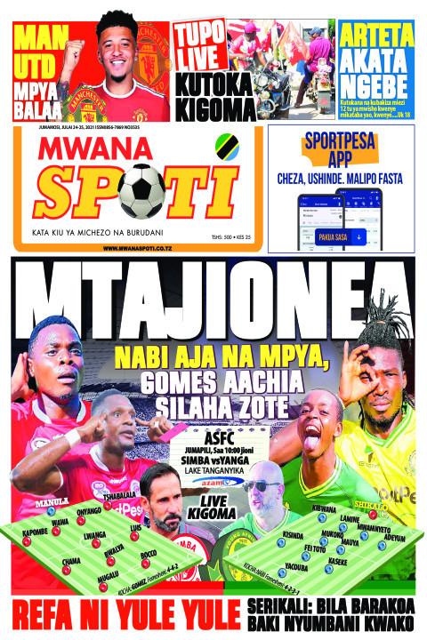 MTAJIONEA NABI AJA NA MPYA GOMES AACHIA SILAHA  ZOTE  | Mwanaspoti