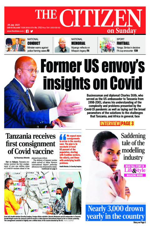 Former US envoy's  insights on Covid | The Citizen