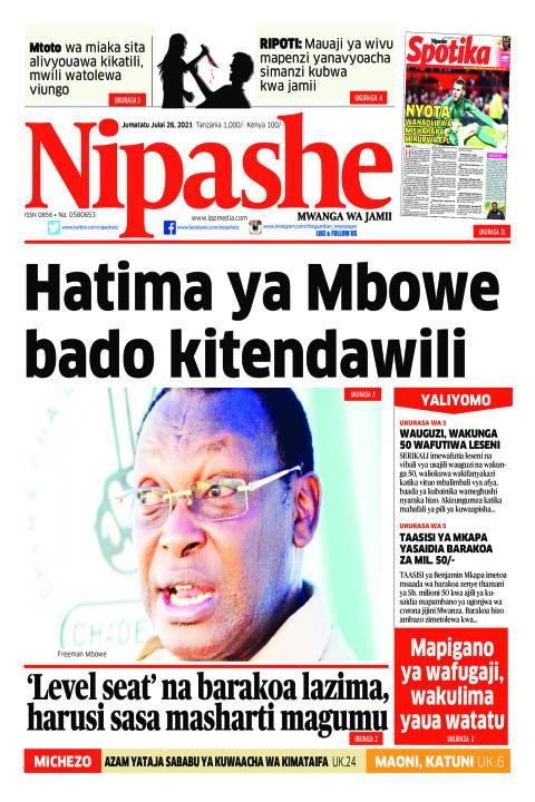 Hatima ya Mbowe bado kitendawili | Nipashe
