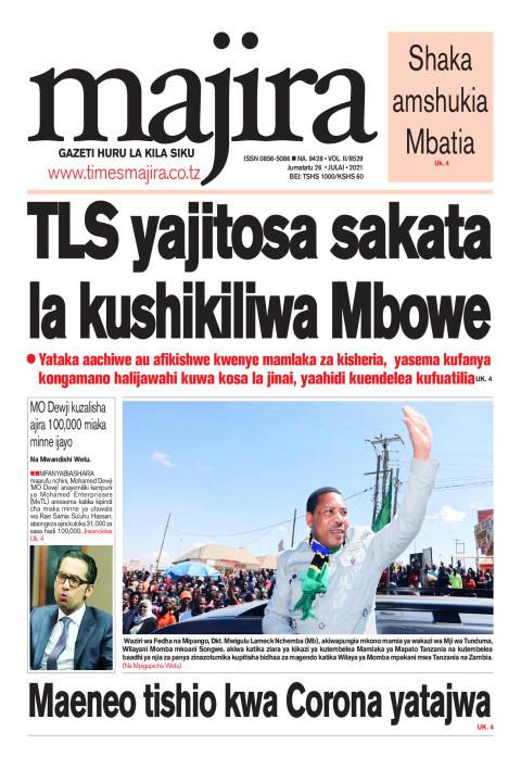 TLS wajitosa sakata la kushikiliwa Mbowe | MAJIRA