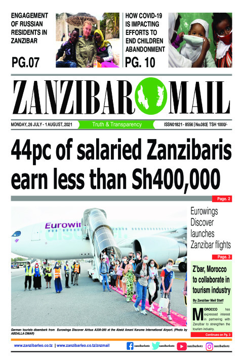 Eurowings Discover launches Zanzibar flights | ZANZIBAR MAIL