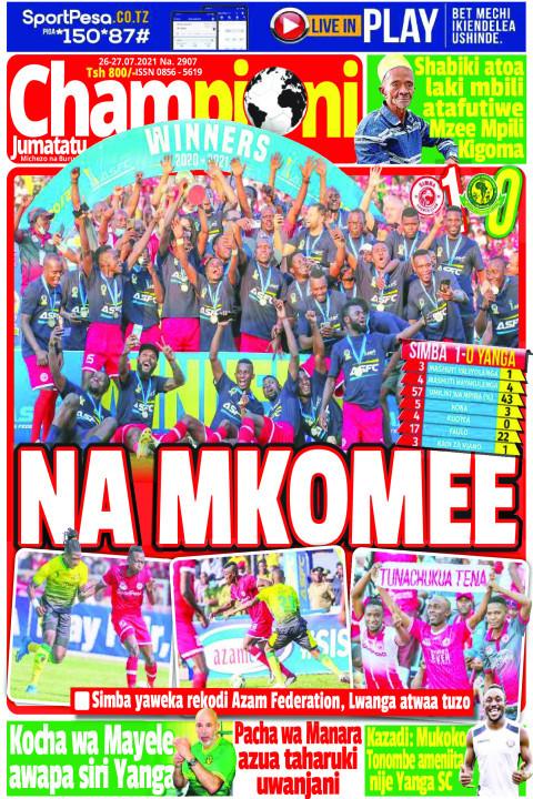 NA MKOMEE | Champion Jumatatu