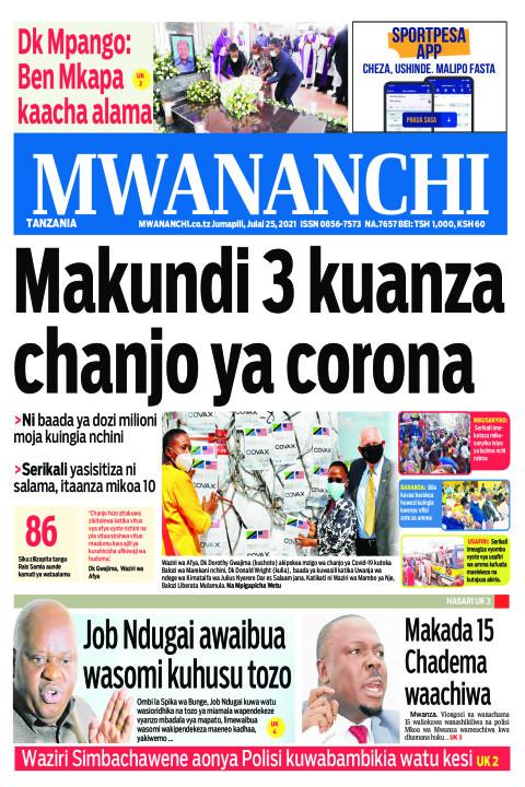 Makundi 3 kuanza chanjo ya corona   Mwananchi