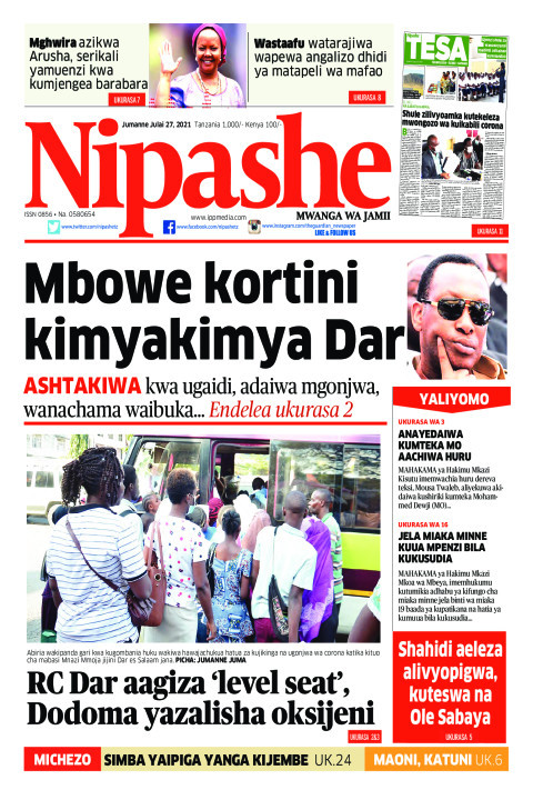 Mbowe kortini kimyakimya Dar | Nipashe