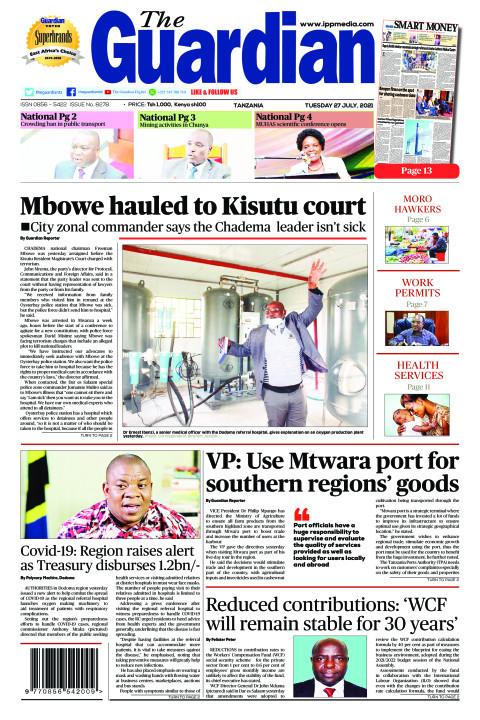 Mbowe hauled to Kisutu court | The Guardian