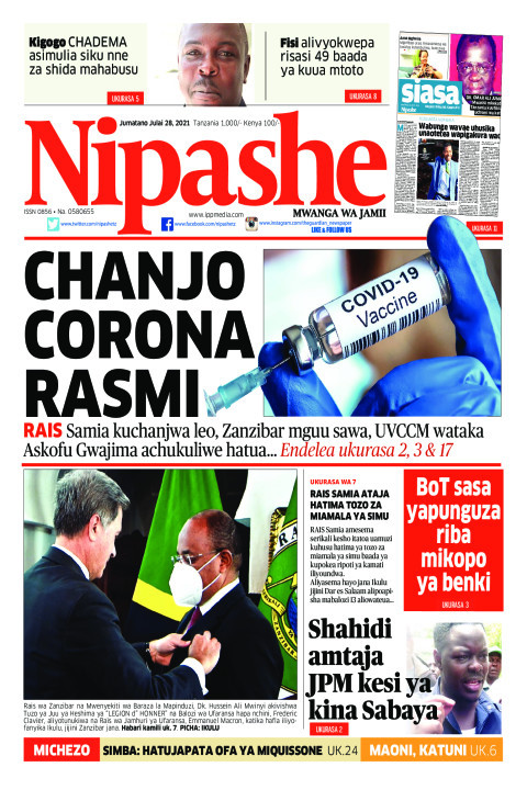 CHANJO CORONA RASMI | Nipashe