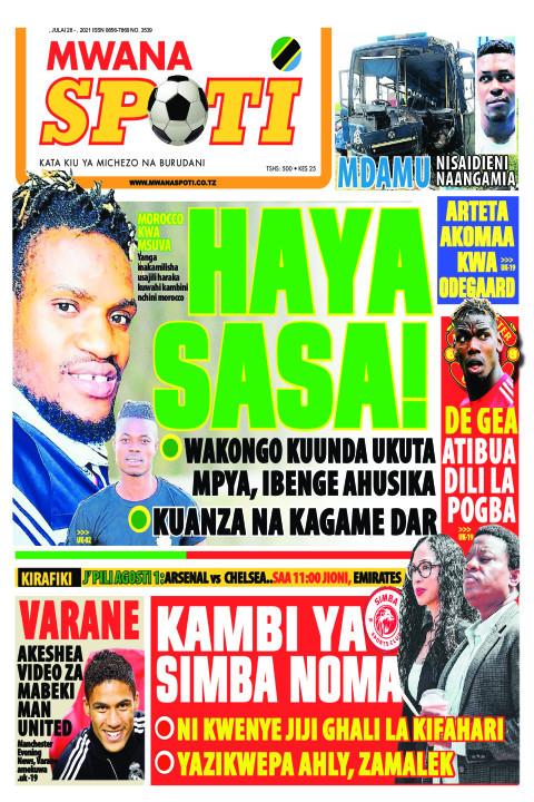 HAYA SASA!  | Mwanaspoti