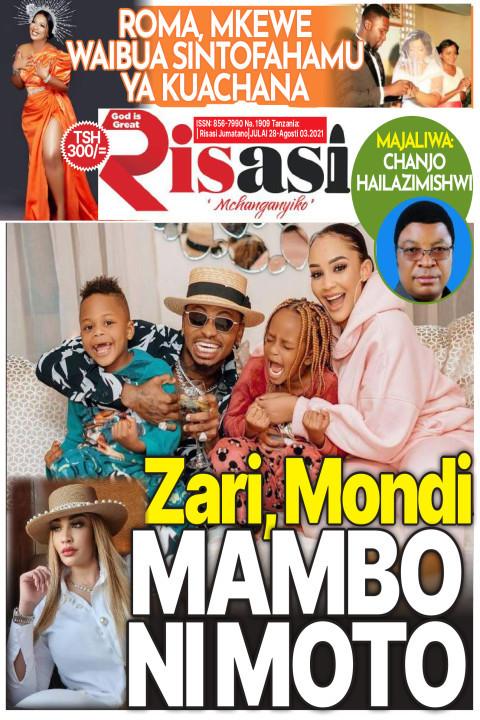Zari, Mondi  MAMBO NI MOTO | Risasi Mchanganyiko