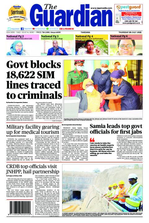 Govt blocks 18,622 SIM lines traced to criminals | The Guardian