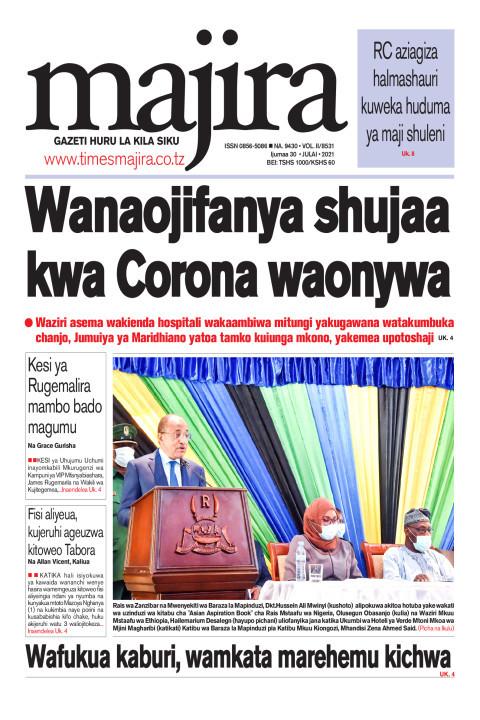 Wanaojifanya shujaa kwa corona waonywa | MAJIRA