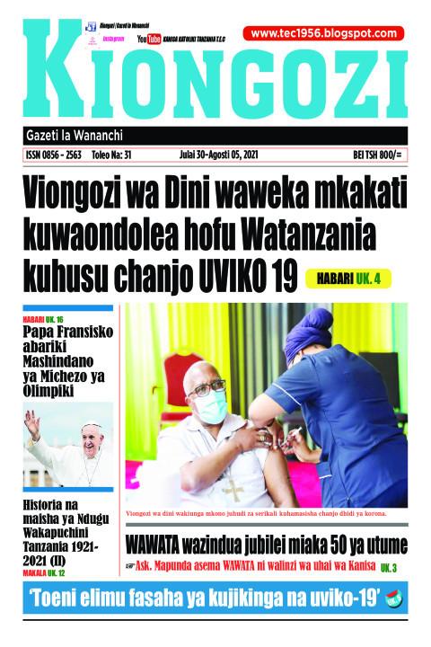 Viongozi wa Dini waweka mkakati kuwaondolea hofu Watanzania | Kiongozi