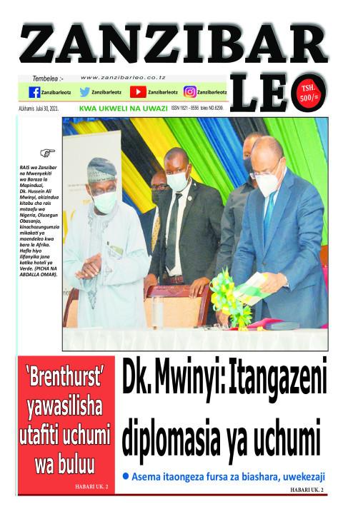Dk. Mwinyi: Itangazeni diplomasia ya uchumi | ZANZIBAR LEO
