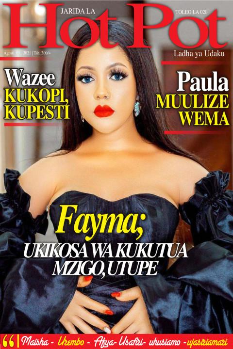 Fayma; UKIKOSA WA KUKUTUA MZUGO, UTUPE | Hot Pot