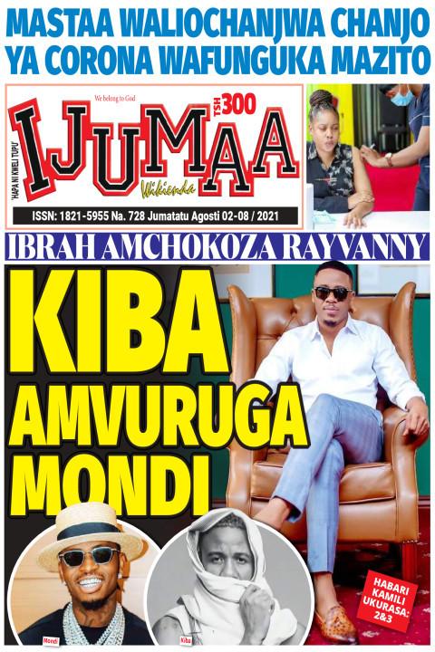 KIBA AMVURUGA MONDI | Ijumaa Wikienda