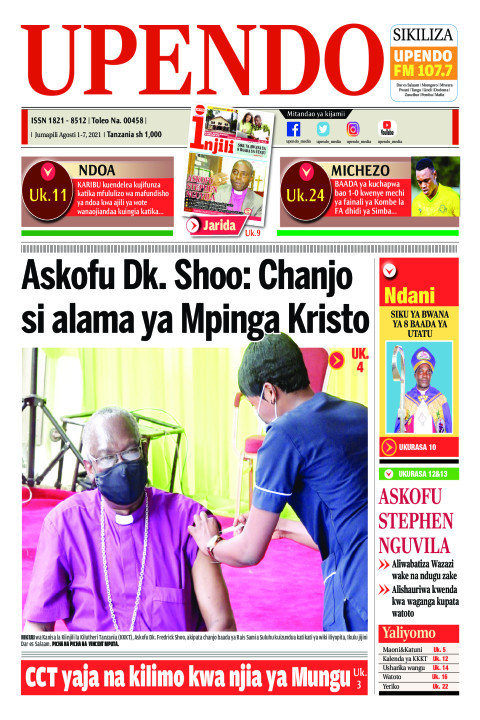 Askofu Dk. Shoo: Chanjo si alama ya Mpinga Kristo | Upendo