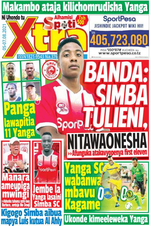 Banda: Simba tulieni, NITAWAONESHA | SpotiXtra Alhamis