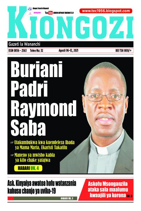 Buriani Padri Raymond Saba | Kiongozi