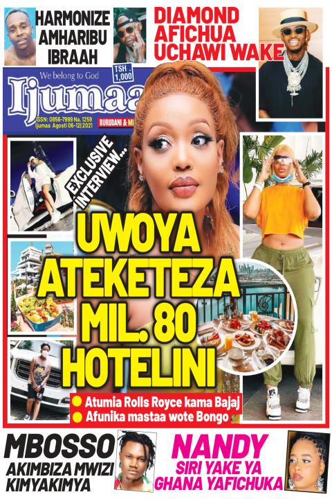 UWOYA ATEKETEZA MIL 80 HOTELINI | Ijumaa Ijumaa