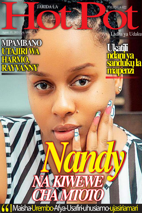 Nandy NA KIWEWE CHA MTOTO | Hot Pot