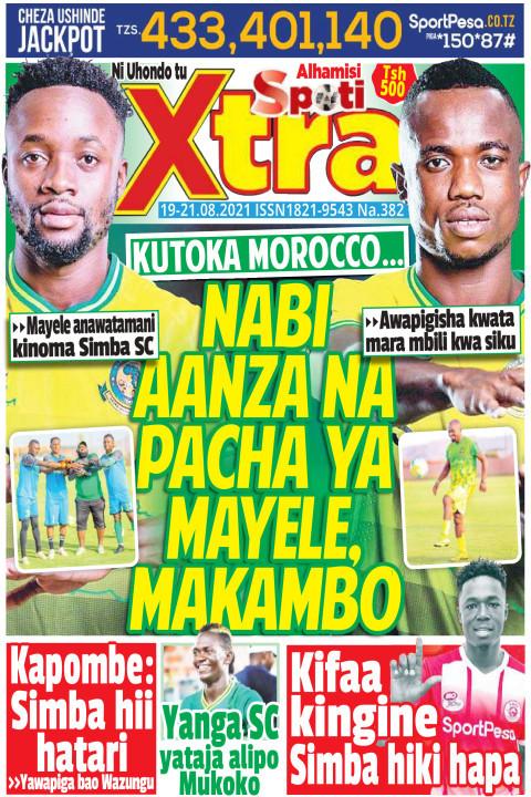 Nabi aanza na pacha ya Mayele, Makambo | SpotiXtra Alhamis
