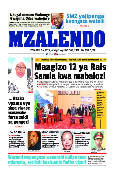 Maagizo 12 ya Rais Samia kwa mabalozi | Mzalendo
