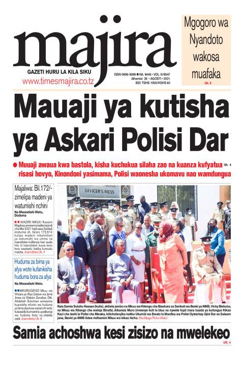 Mauaji ya kutisha ya Askari Polisi Dar | MAJIRA