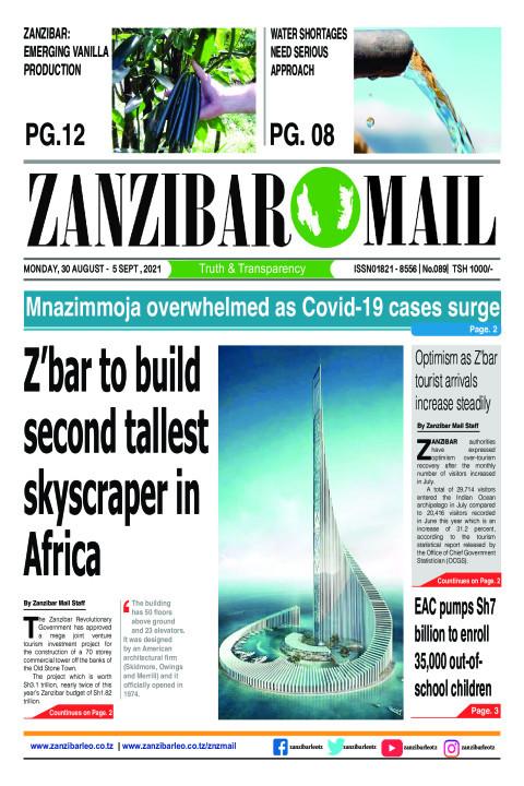 Z'bar to build second tallest skyscraper in Africa | ZANZIBAR MAIL