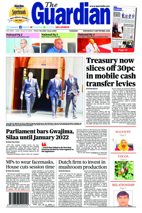 Treasury now slices off 30pc in mobile cash transfer levies | The Guardian